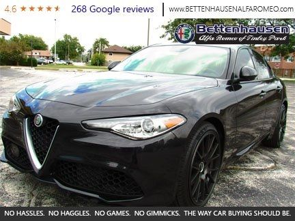 New 2017 Alfa Romeo Giulia Base AWD